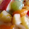 Фруктовый салат с соусом