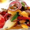 Салат из овощей с яблоком