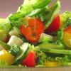 Овощной салат с фруктами
