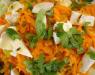 Cалат из моркови с сыром