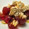 Салат из винограда и сыра «Фета»