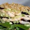 Салат из курицы с черносливом, Салат