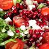 Салат из свеклы с помидорами
