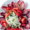Салат с клубникой и эндивием