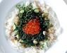 Блюдо с икрой и рисом