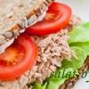Бутерброды с тунцом и помидорами