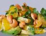 Салат с апельсинами и кешью